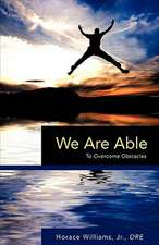We Are Able