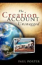 The Creation Account Unsnagged