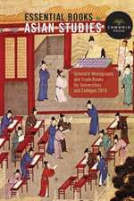 Cambria Press Books in Asian Studies: Scholarly Monographs and Trade Books for Universities and Colleges