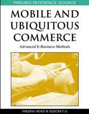 Mobile and Ubiquitous Commerce