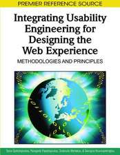 Integrating Usability Engineering for Designing the Web Experience