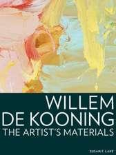Willem de Kooning – The Artist′s Materials