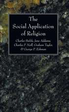 The Social Application of Religion