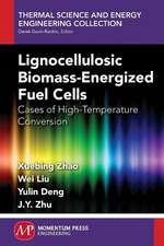 Lignocellulosic Biomass-Energized Fuel Cells:  Cases of High-Temperature Conversion