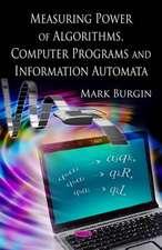 Measuring Power of Algorithms, Programs and Automata