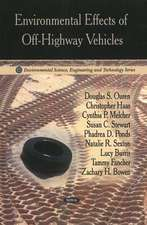 Environmental Effects of Off-Highway Vehicles