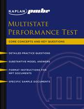Multistate Performance Test (MPT): Core Concepts and Key Questions