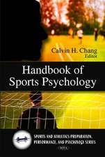 Handbook of Sports Psychology