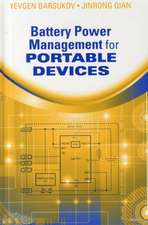 Battery Power Management for Portable Devices