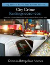 City Crime Rankings 2010-2011