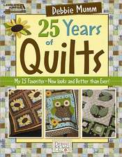 Debbie Mumm's 25 Years of Quilts:  Add Crocheted Edgings to Flannel or Seersucker for Lightweight Baby Blankets