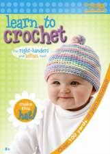 Learn to Crochet:  Baby Hat Kit