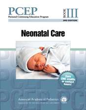 Perinatal Continuing Education Program (PCEP): Book III