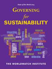 State of the World 2014: Governing for Sustainability