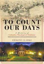 To Count Our Days