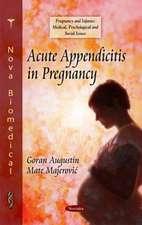 Acute Appendicitis in Pregnancy