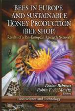 Bees in Europe & Sustainable Honey Production (BEE SHOP): Results of a Pan-European Research Network