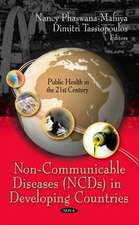 Non-Communicable Diseases (NCDs) in Developing Countries