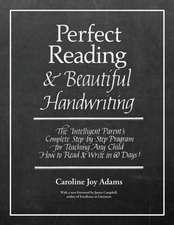 Perfect Reading, Beautiful Handwriting