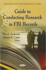Guide to Conducting Research in FBI Records
