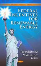 Federal Incentives for Renewable Energy
