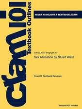 Studyguide for Sex Allocation by West, Stuart, ISBN 9780691089638