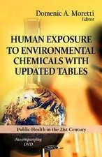 Human Exposure to Environmental Chemicals with Updated Tables