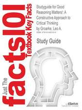 Studyguide for Good Reasoning Matters!