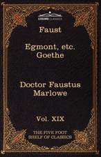 Faust, Part I, Egmont & Hermann, Dorothea, Dr. Faustus