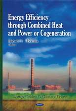 Energy Efficiency Through Combined Heat & Power or Cogeneration