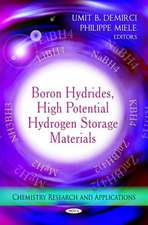 Boron Hydrides, High Potential Hydrogen Storage Materials