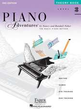 Piano Adventures, Level 3B, Theory Book