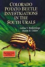 Colorado Potato Beetle Investigations in the South Urals