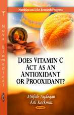 Does Vitamin C Act as an Antioxidant or Prooxidant?