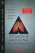 Vitamin A & Lung Development