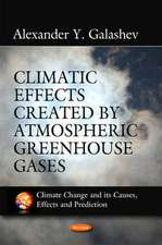 Climatic Effects Created by Atmospheric Greenhouse Gases