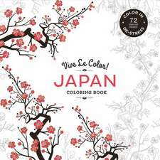Vive Le Color! Japan (Adult Coloring Book)