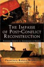 The Impasse of Post-Conflict Reconstruction