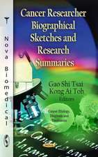 Cancer Researcher Biographical Sketches & Research Summaries