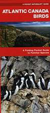 Atlantic Canada Birds: A Folding Pocket Guide to Familiar Species