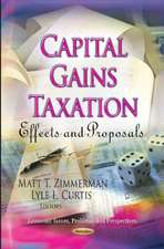 Capital Gains Taxation