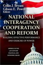 National Interagency Cooperation and Reform