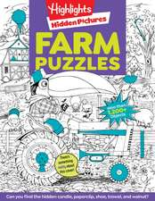Highlights Hidden Pictures(r) Favorite Farm Puzzles