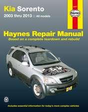 Kia Sorento Automotive Repair Manual