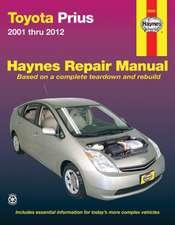 Toyota Prius 2001 Thru 2012:  2001 Thru 2012