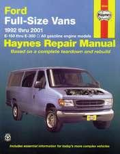 Ford Full-Size Vans 1992 Thru 2014 E-150 Thru E-350 Gasoline Engine Models