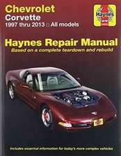 Chevrolet Corvette Automotive Repair Manual