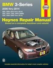 BMW 3-Series 2006 Thru 2014:  320i, 320xi (2012 Thru 2014), 325i, 325xi, 330i, 330xi (2006), 328i, 328xi (2007 Thru 2014)