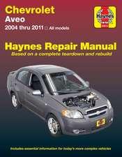 Chevrolet Aveo Automotive Repair Manual 04-11
