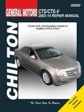 Cadillac CTS & CTS-V, 2003-14